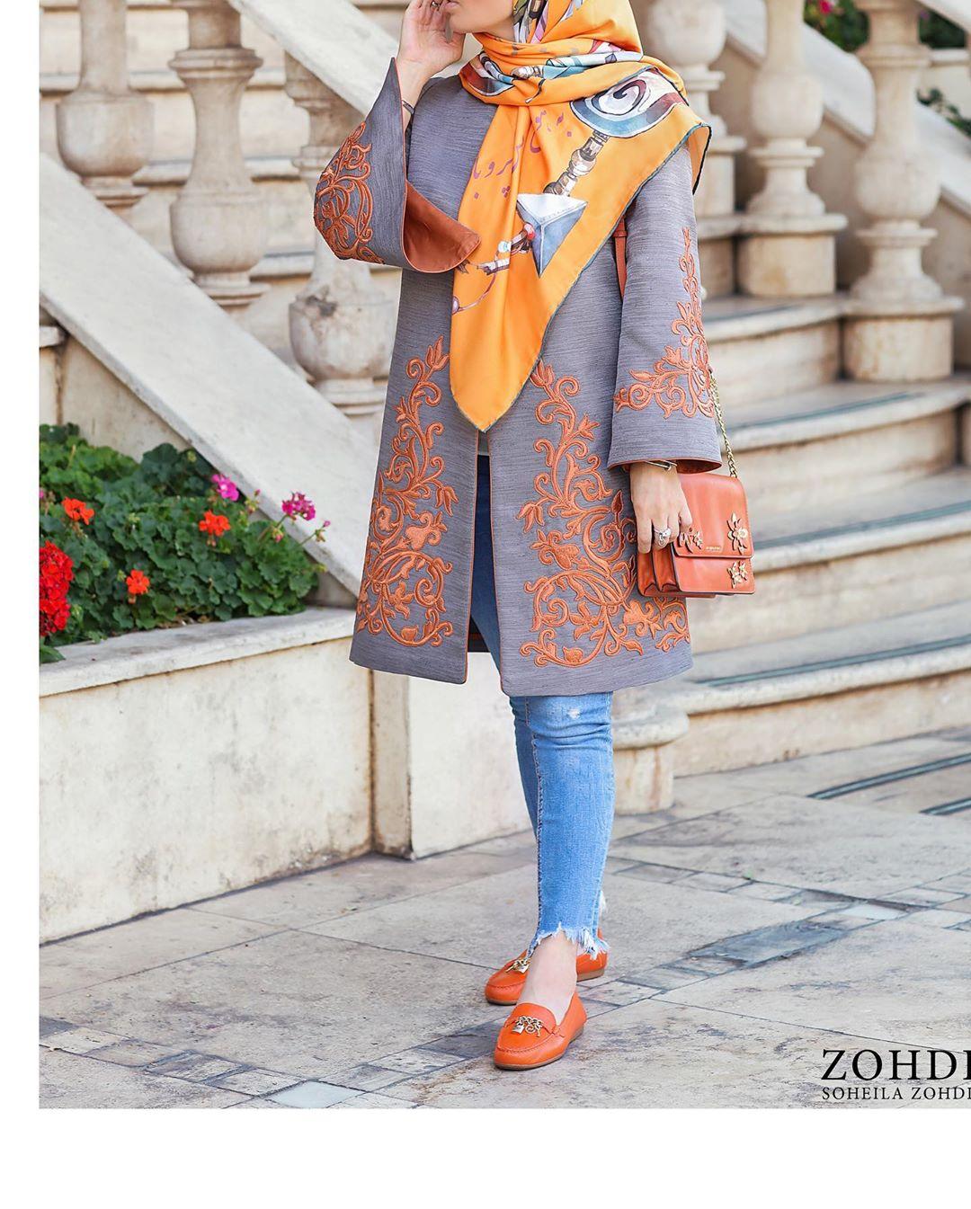 عکس مدل مانتو دخترانه