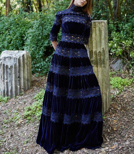 مدل لباس مجلسی زنانه بلند اینستاگرام