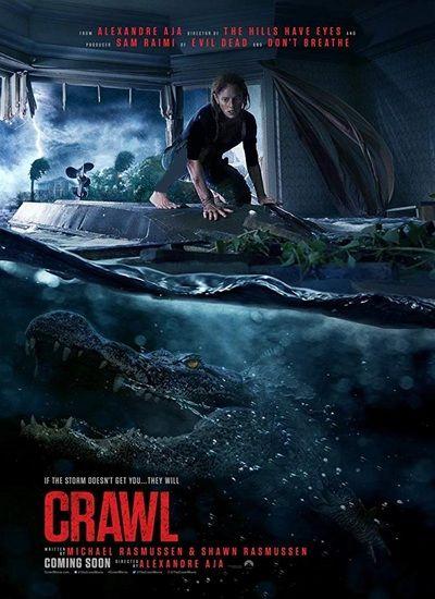 دانلود رایگان فیلم Crawl 2019 با دوبله فارسی