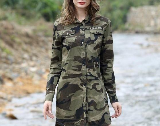 مدل مانتو ارتشی دخترانه جدید