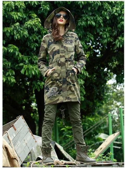 مدل مانتو از پارچه های ارتشی