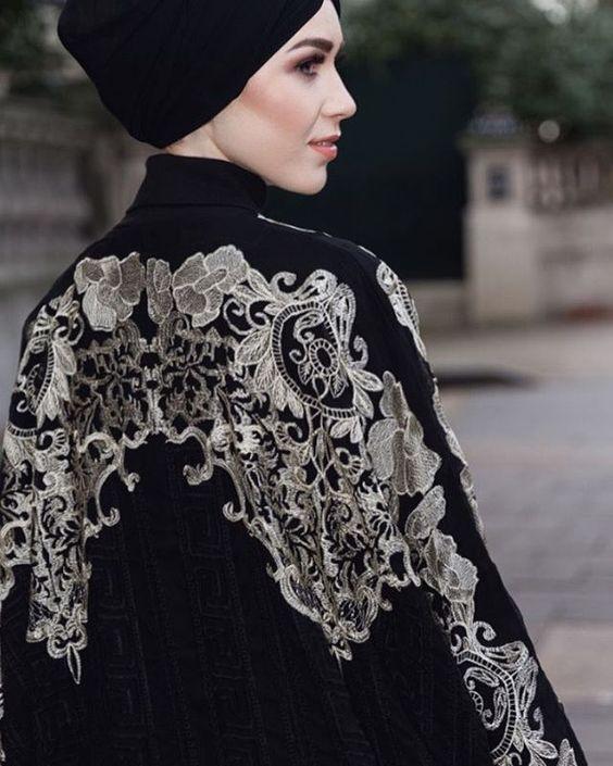 مدل مانتو عبای اماراتی