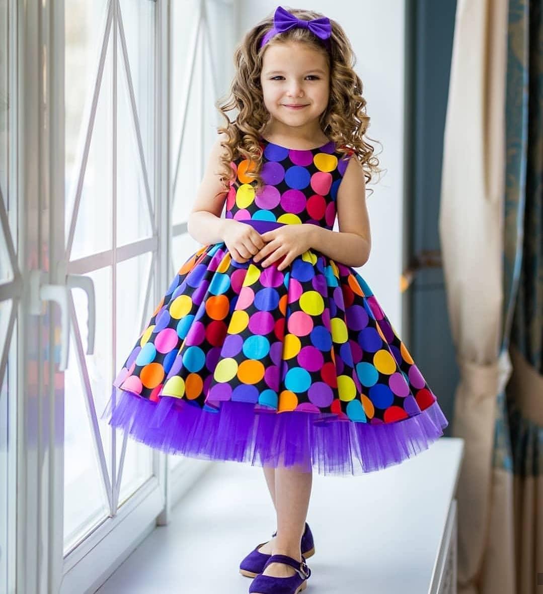 مدل لباس مجلسی دختربچه اینستاگرام