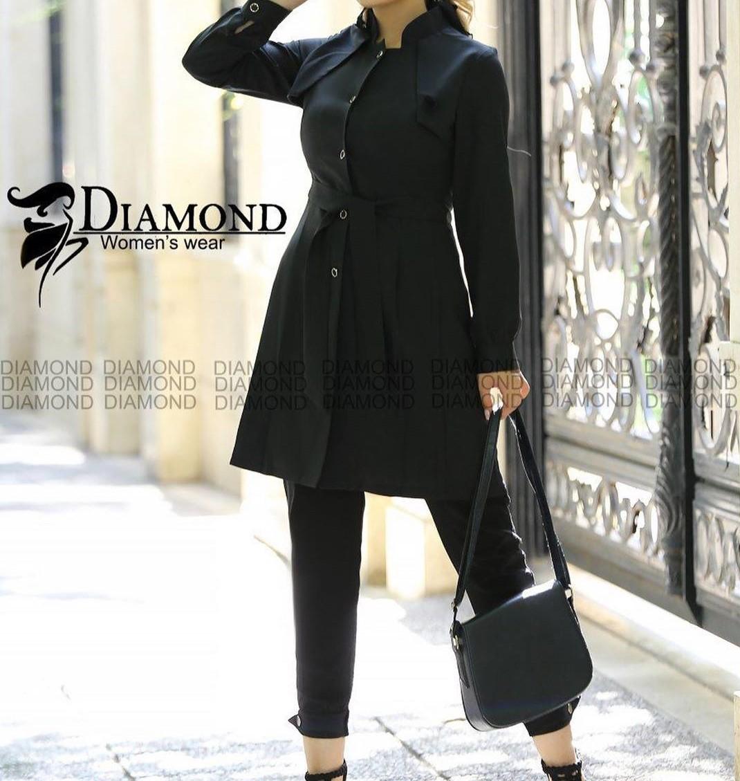 مدل مانتو اسپرت پاییزی زنانه