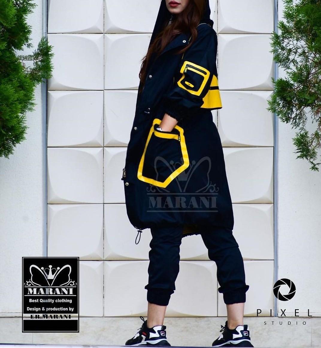 مدل مانتو اسپرت پاییزه دخترانه