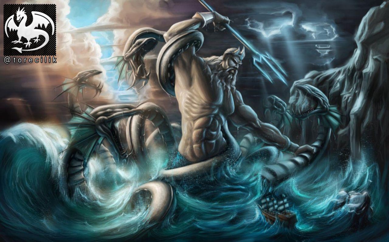 پوسایدون: خدای آب و دریا