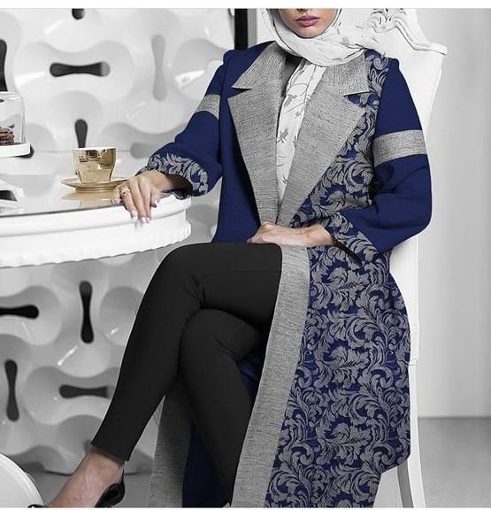 مدل مانتو زمستانی بلند دخترانه