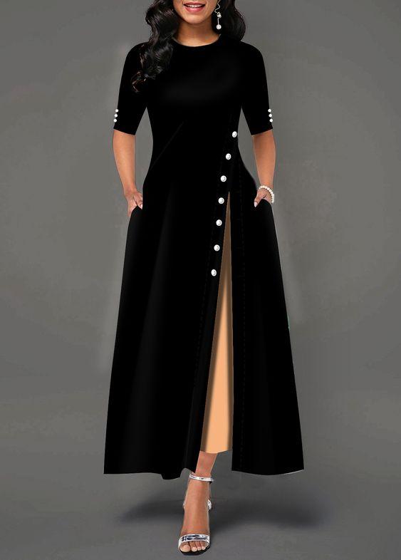 مدل مانتو زنانه جدید بلند