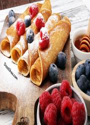 طرز تهیه نان کرپ فرانسوی