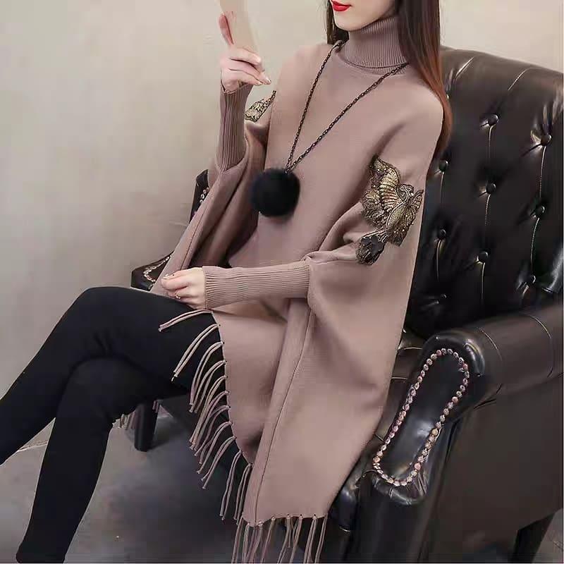 مدل شنل بافت زنانه جدید