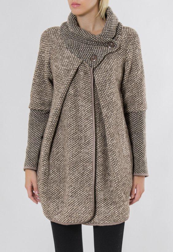 مدل مانتو زمستانی اسپرت دخترانه