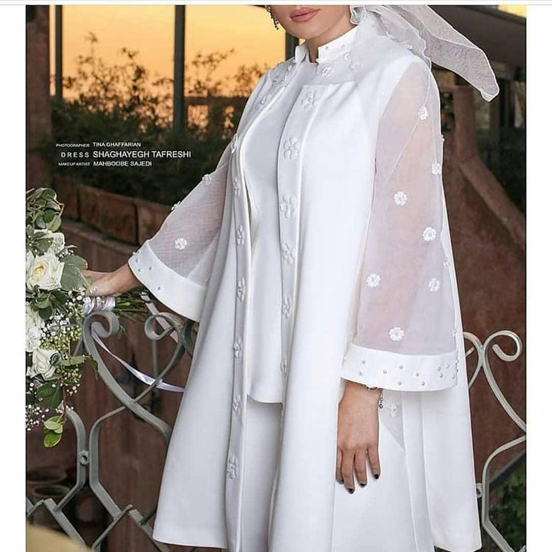 مدل لباس عروسی شیک