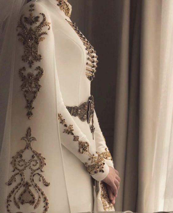مدل لباس عروس پوشیده اینستا