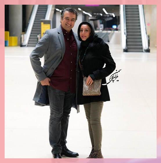 سام نوری و همسرش   بیوگرافی سام نوری خواهرزاده محمدعلی فردین بازیگر سینا در فوق لیسانسه ها