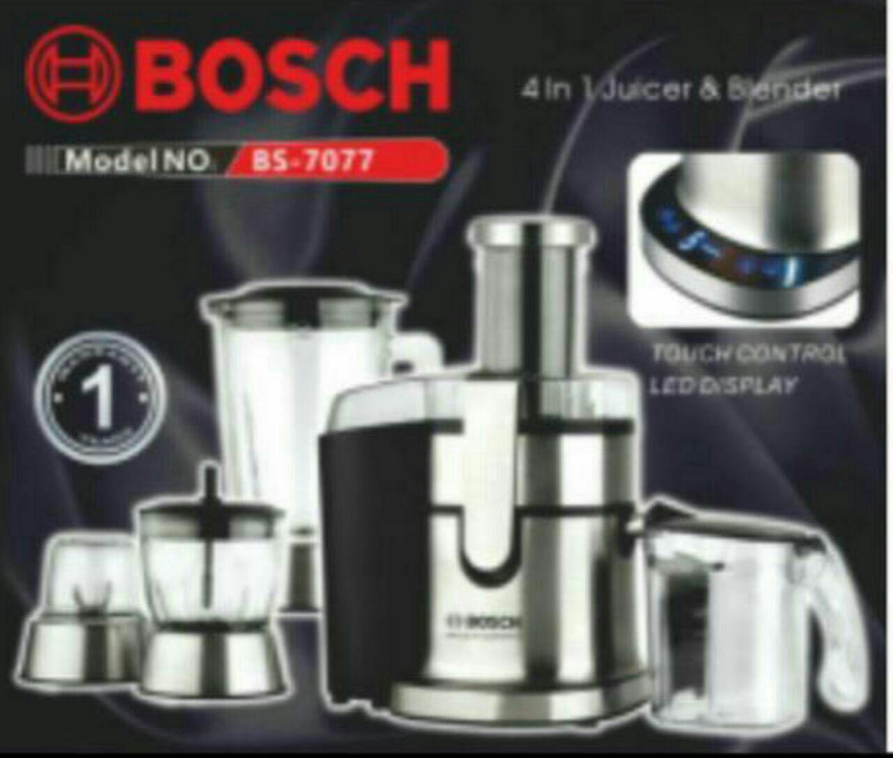 ابمیوه گیر چهار کاره دیجیتال بوش bosch