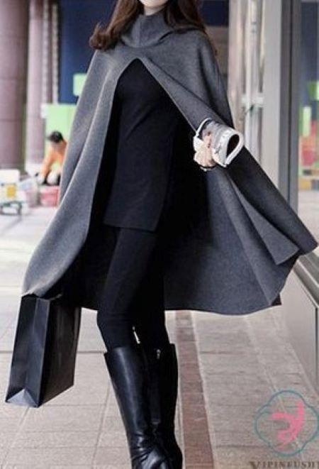 مدل مانتو پانج زمستانی
