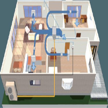 طراحی و محاسبه گام به گام داکت اسپلیت