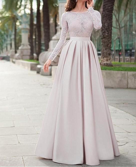 مدل لباس مجلسی زنانه بلند 2019