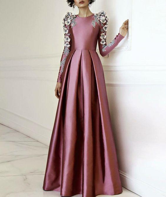 مدل لباس نامزدی بلند