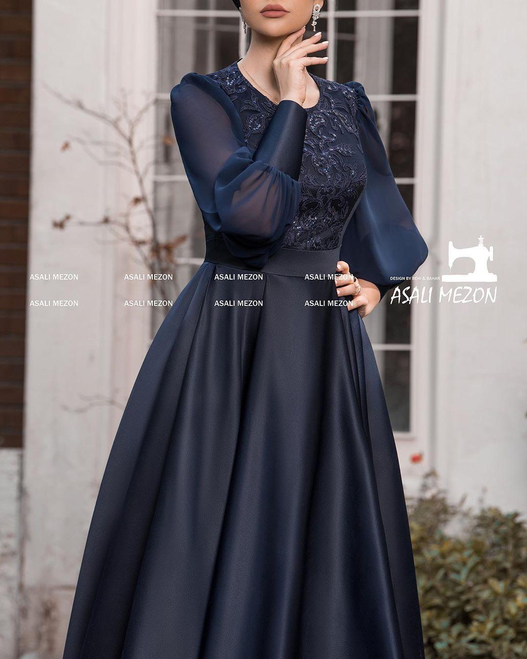 مدل لباس مجلسی ماکسی بلند دخترانه