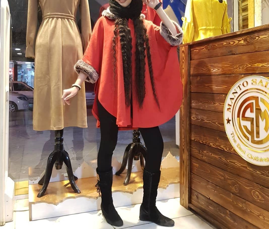 مدل مانتو زمستانی دخترانه کوتاه