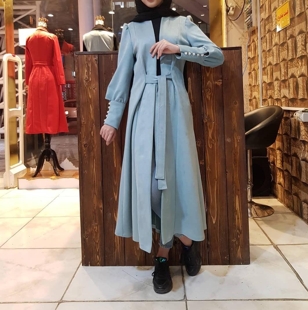 مدل مانتو زمستانی دخترانه بلند