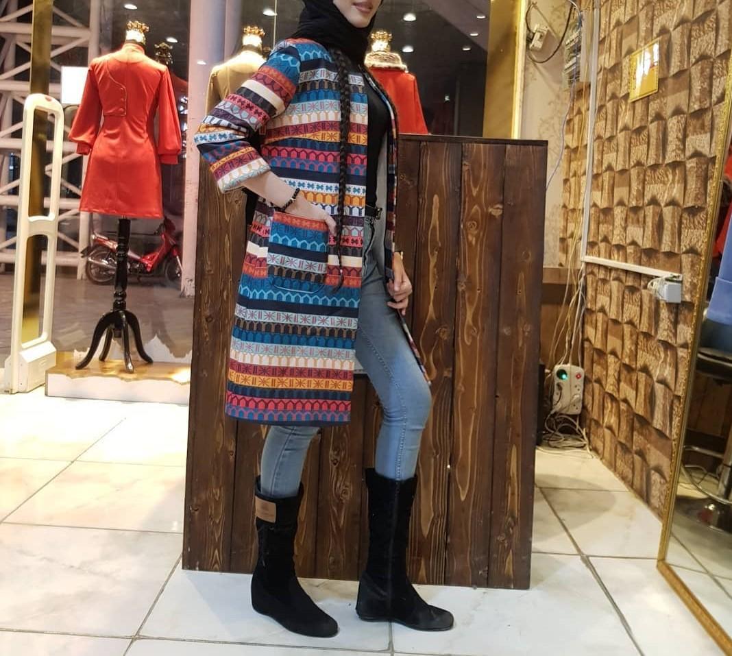 مدل مانتو زمستانی دخترانه اسپرت