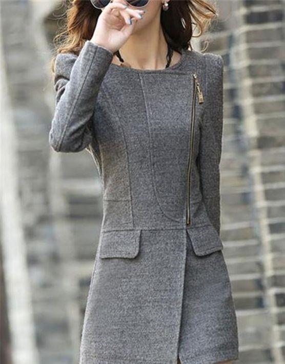 مدل پالتو کوتاه دخترانه کره ای