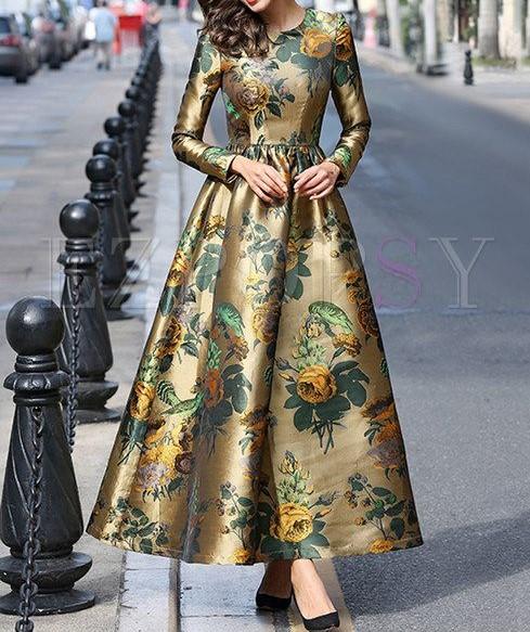 مدل مانتو زنانه پیراهنی بلند