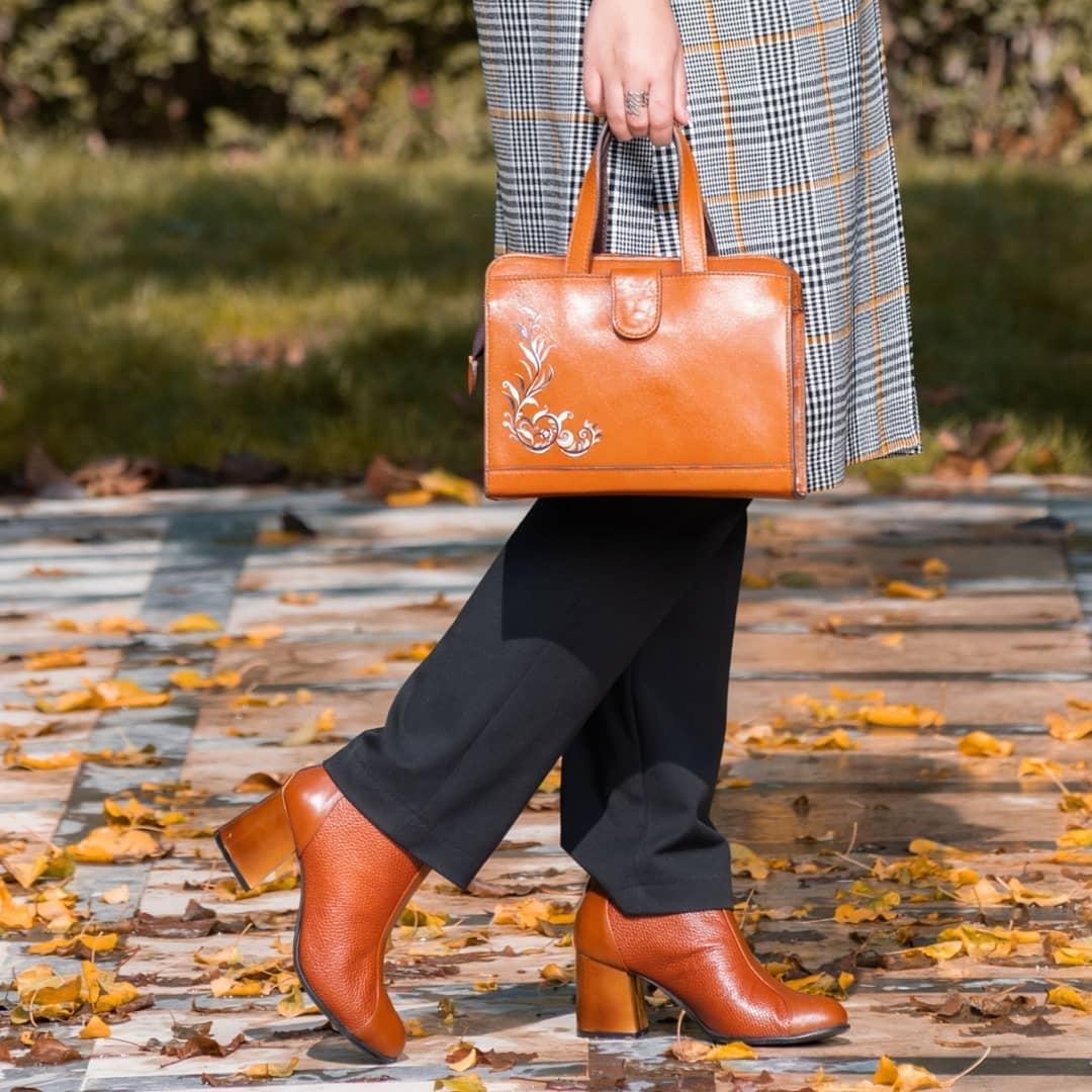 ست کیف و کفش زنانه اداری