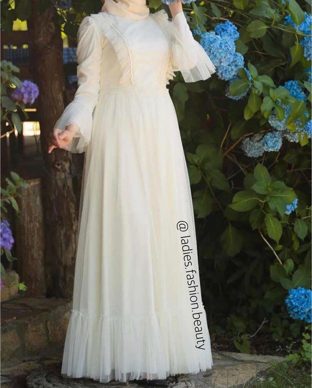 مدل لباس عروس باحجاب