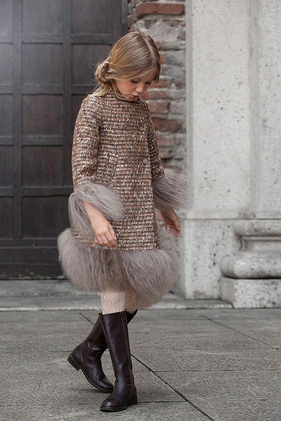 مدل پالتو دختر بچه گانه