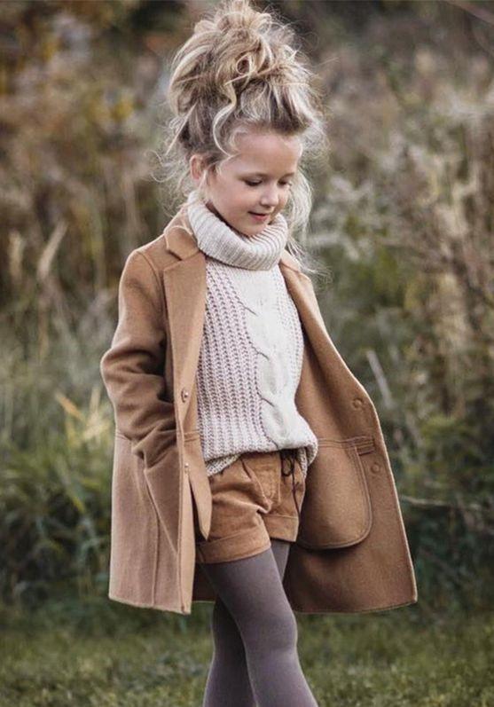 مدل پالتو دختر بچه ۹۸