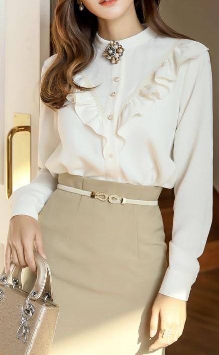 مدل شومیز دخترانه استین بلند