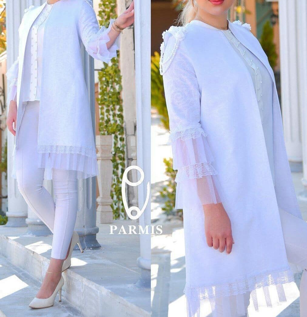 مدل مانتو لباس عروس جدید