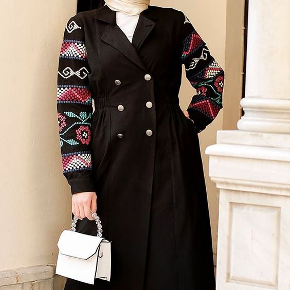 جدیدترین مدل مانتو پاییز زمستانی زنانه