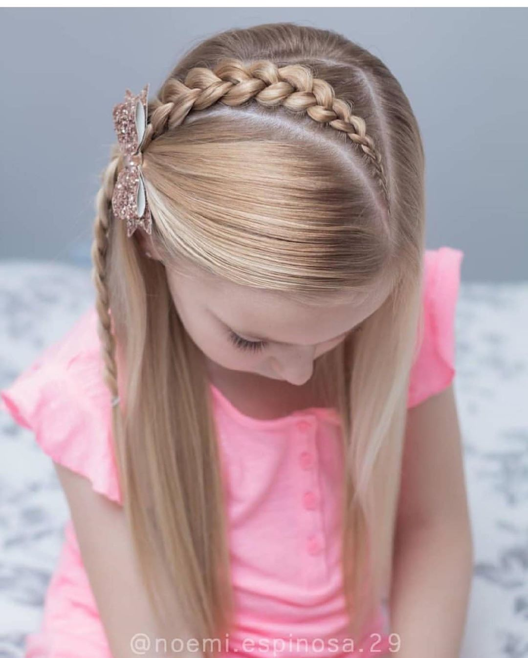 مدل بافت مو دخترانه مجلسی