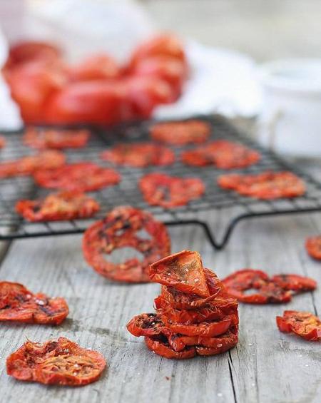 خشک کردن گوجه،نکاتی برای خشک كردن گوجه