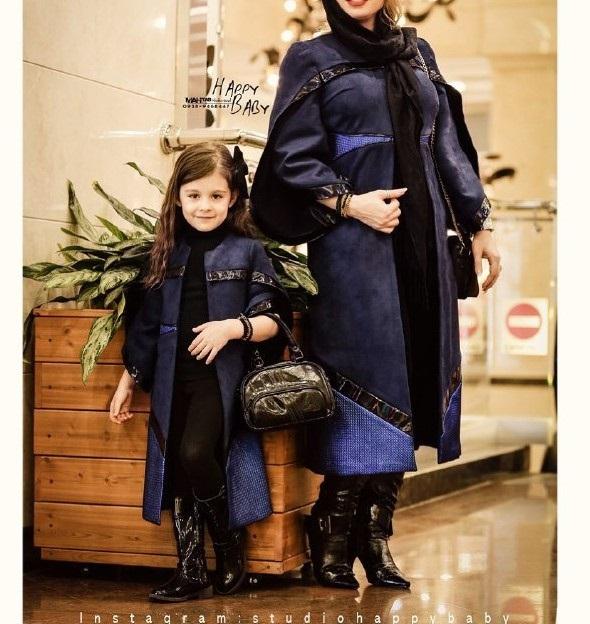 ست لباس مادر دختر مجلسی