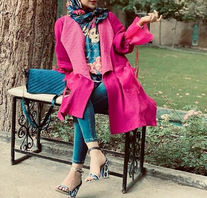 مدل پالتو مانتو زمستانی دخترانه جدید