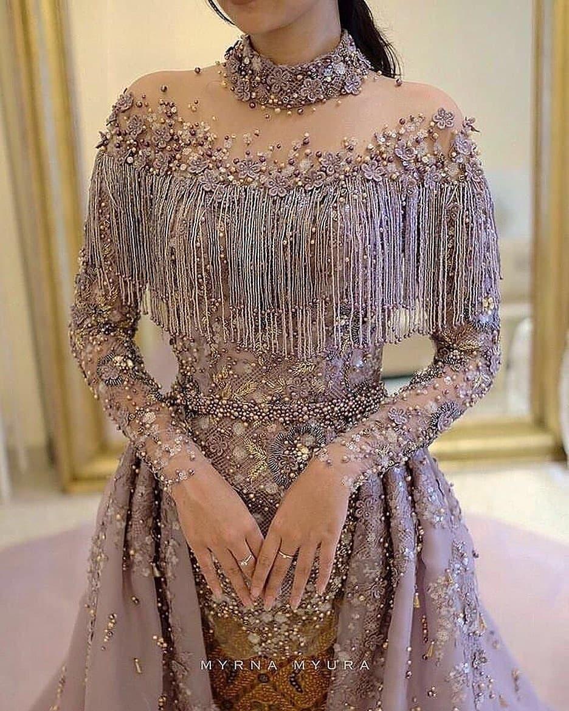 مدل لباس مجلسی بلند دخترانه جدید 2019