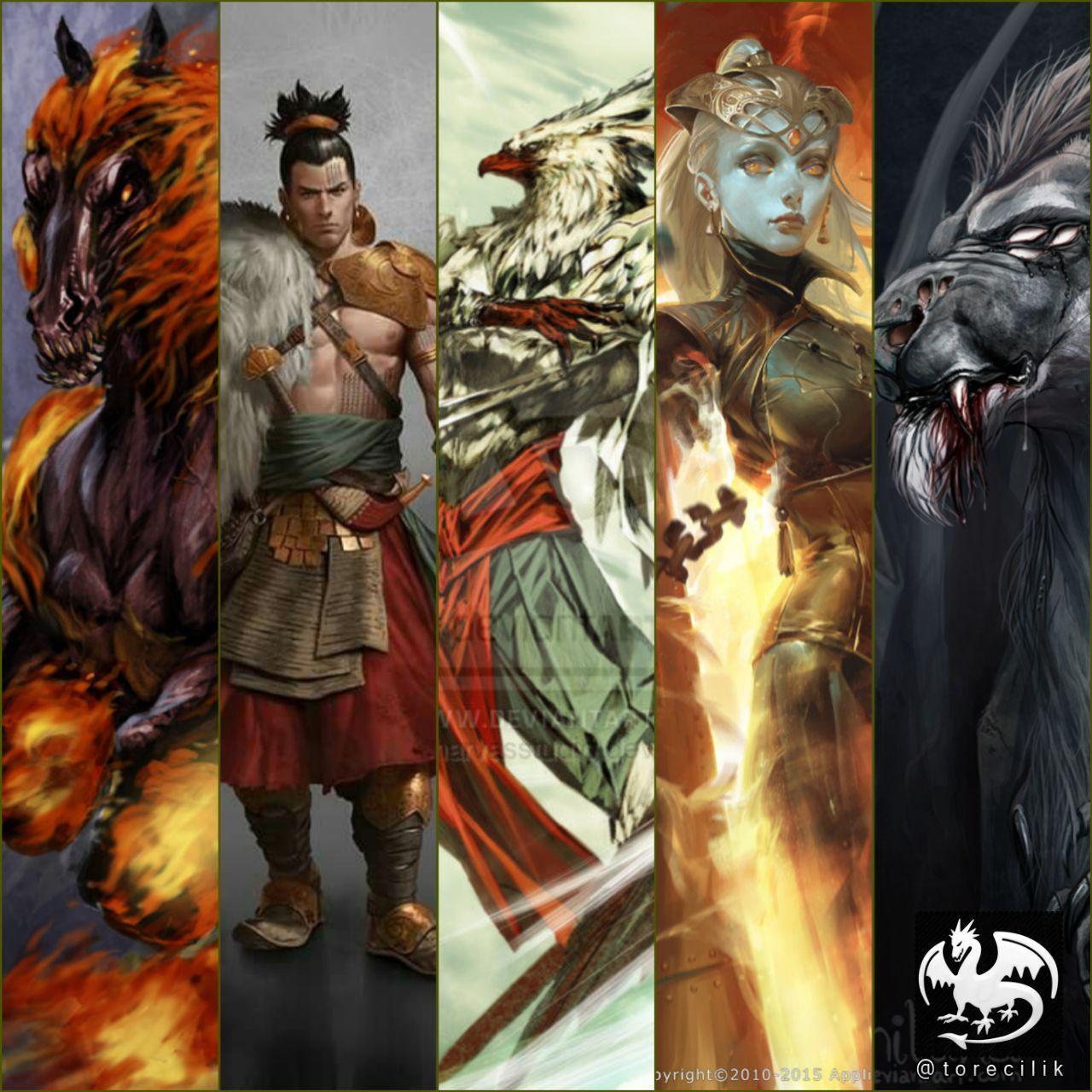 خدایان پنجگانه کنعانی