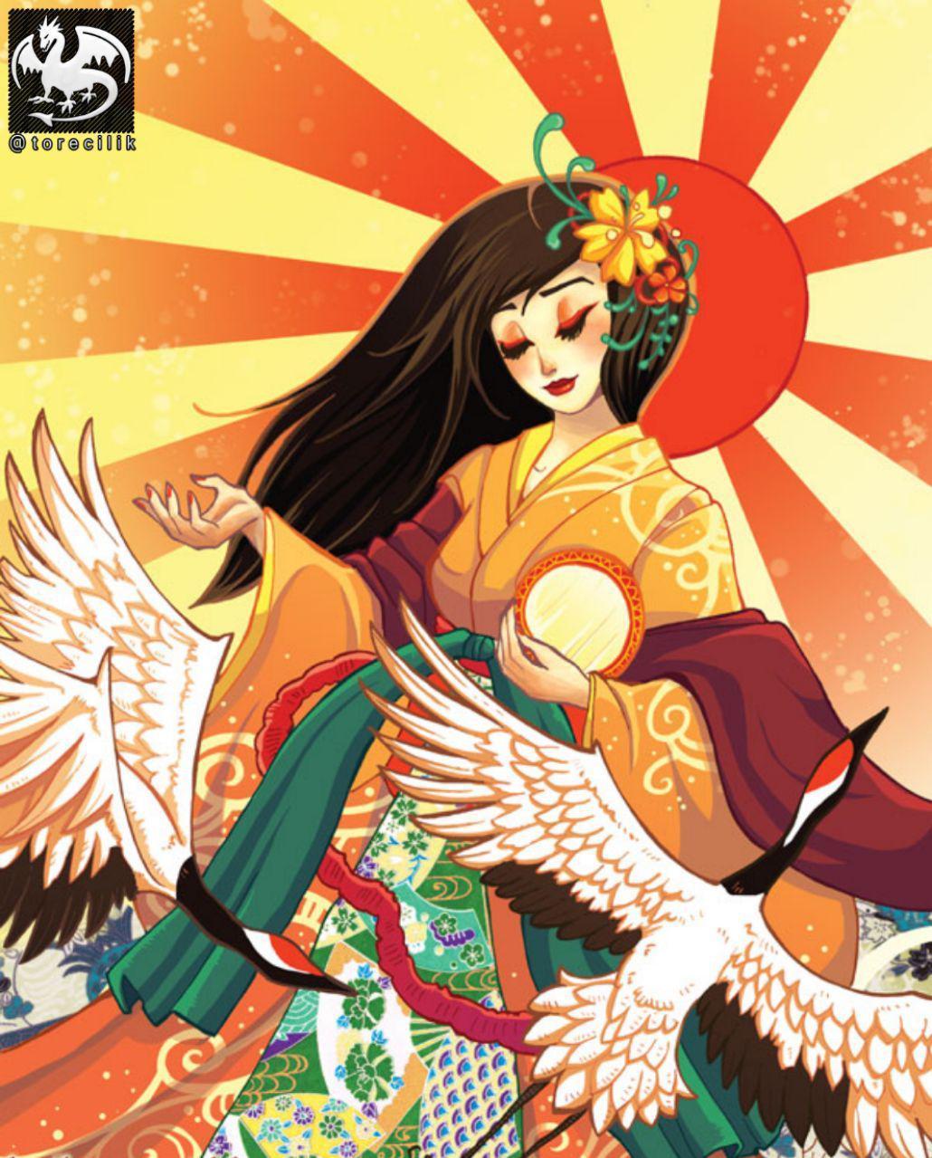 آماتراسو: خدابانوی آفتاب