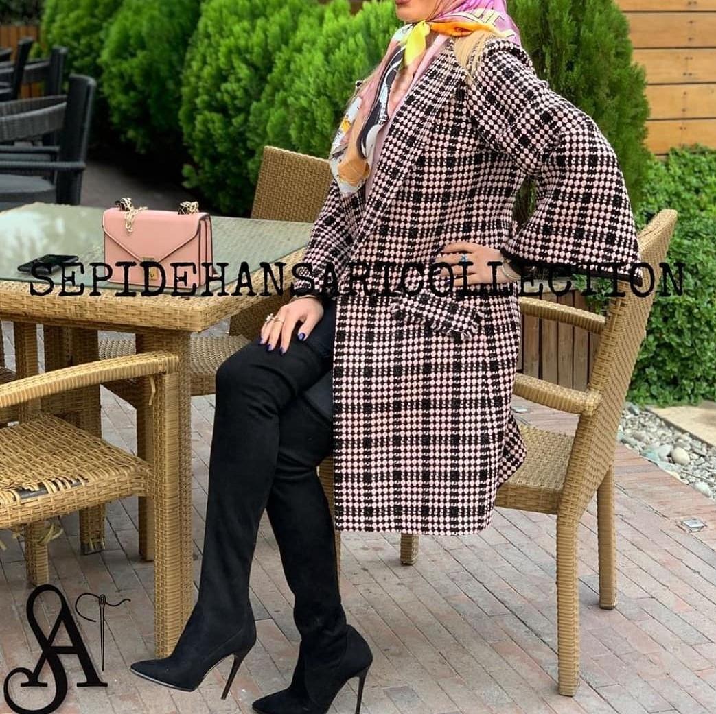 مدل پالتو بلند زنانه جدید