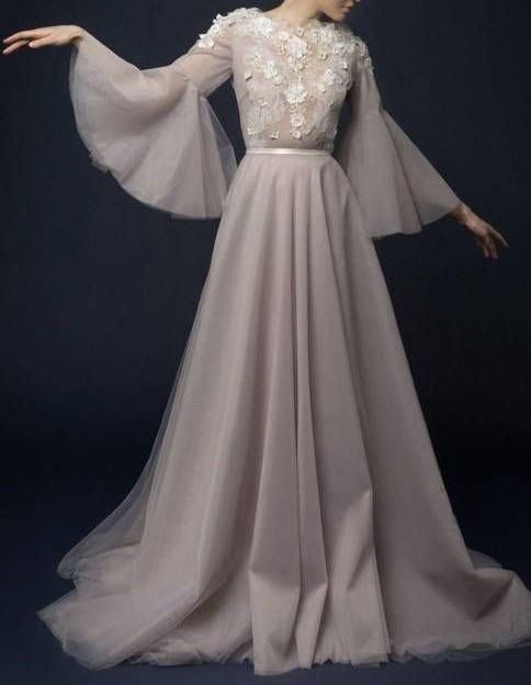 مدل لباس مجلسی بلند دخترانه شیک
