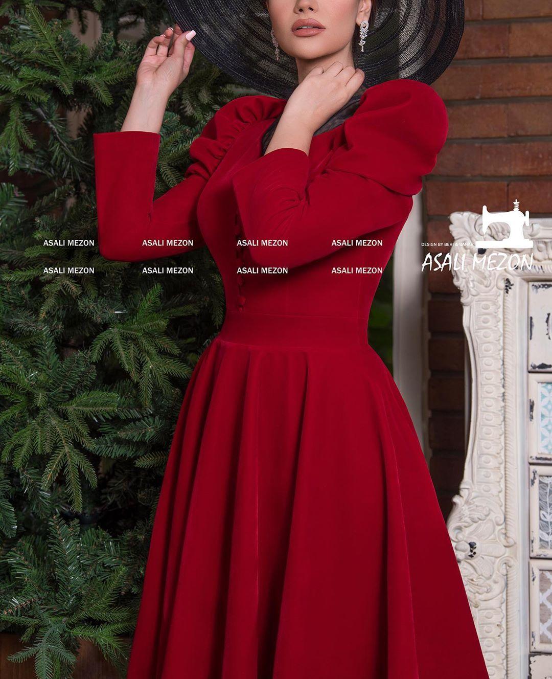مدل لباس مجلسی بلند دخترانه