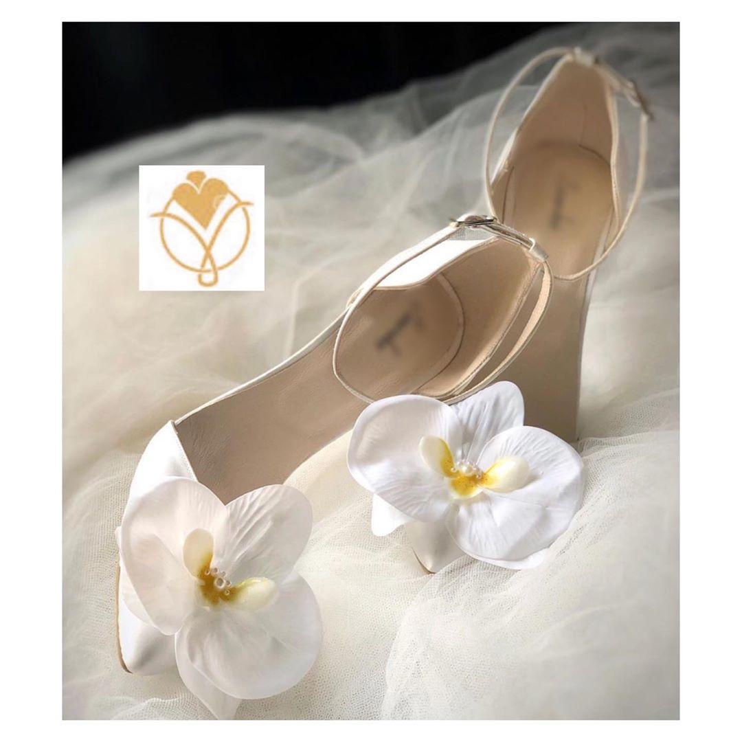مدل کفش عروس پاشنه بلند شیک
