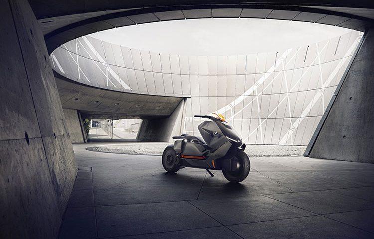 موتور سیکلت برقی BMW طرحی مفهومی از یک وسیله نقلیه برای آینده