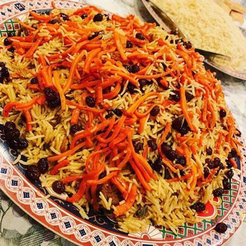 قابلی پلو | آموزش طرز تهیه قابلی پلو غذای خوشمزه افغانستانی