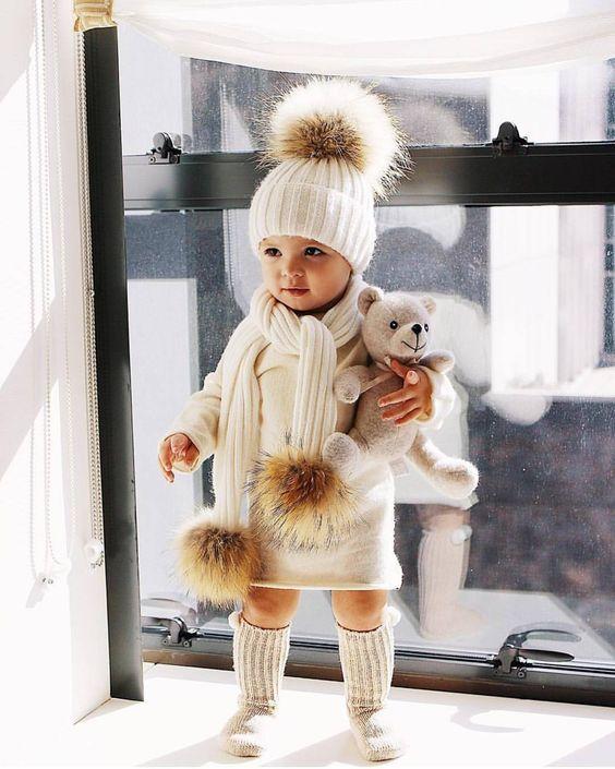 مدل لباس بافت کودکانه